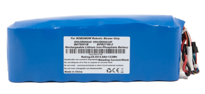 Batterij robomow voor RS (buiten de RS635 en RS630) MRK 6105A